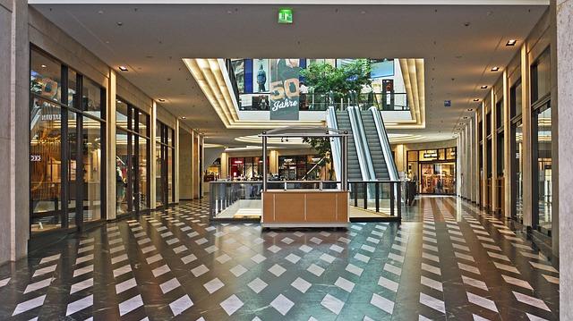 Холл торгового центра